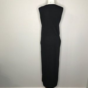 Fei Tong Dresses - Fei Tong Black Side Cutout Maxi Dress A070194